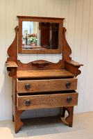 Solid Oak Arts And Crafts Chest (4 of 9)