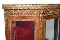 French Display Cabinet Vernis Martin Painted Bijouterie c.1900 (14 of 16)