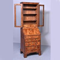 George I Walnut Bureau Bookcase c.1724 (7 of 19)