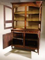 A Massive Mid 19th Century Provence Ash and Ash/Walnut Glazed Cupboard (3 of 4)