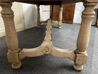 French Rustic Bleached Oak Farmhouse Kitchen Table (20 of 23)