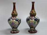 Stunning Pair of Royal Bonn Art Nouveau Vases 'Old Dutch' c.1910 (12 of 14)