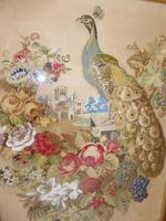 Large 19th Century Needlepoint Fire Screen (2 of 10)