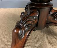 Victorian Round Rosewood Loo Table (4 of 17)