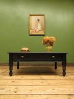 Black Coffee Table with Display Drawer & Glass Top (17 of 18)