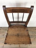 Pair of 19th Century Welsh Oak Farmhouse Chairs (5 of 11)