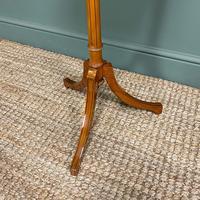 Unusual Victorian Satinwood Jardinière / Side Table (3 of 8)