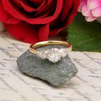 The Art Deco Brilliant Diamond Solitaire Ring (5 of 6)