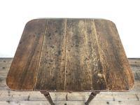 Small Victorian Welsh Oak Pembroke Table (4 of 18)