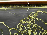 "University Chart ""Black Map of North America (4 of 5)"