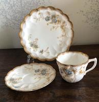 Doulton Burslem Porcelain Trio c.1897 (4 of 5)