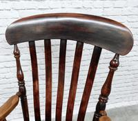 19th Century Lincolnshire Windsor Lathback Armchair (7 of 10)