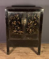 Lacquered hand painted provincial Chinese wedding cabinet (6 of 7)