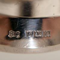 Mid 20th Century Modern Sterling Silver Menorah Birmingham 1950 Bishtons Ltd (9 of 9)