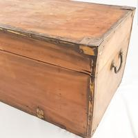 19th Century Camphor Wood Trunk Brass Fittings (7 of 7)