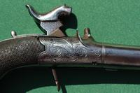 Fine Pair of 19th Century Box Lock Percussion Pocket Pistols by Boaler (2 of 13)