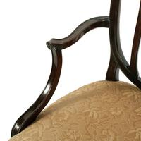 Pair of Hepplewhite Style Elbow Chairs (7 of 8)