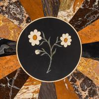 Victorian Walnut & Pietra Dura Table (11 of 16)