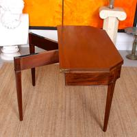 Folding Writing Desk 19th Century Mahogany (10 of 17)