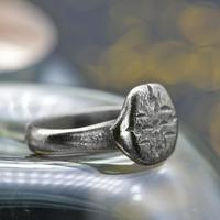 The Ancient Medieval Silver Cross Ring (2 of 4)