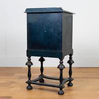 Attractive Late Victorian Chinoiserie Painted Side Cabinet (13 of 15)