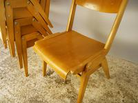 1950's mid Century Dining Chairs by Casala / 10 Available (3 of 5)
