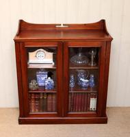Mahogany Display Bookcase (8 of 9)