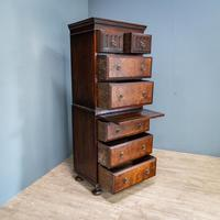 Compact Oak Chest on Chest (2 of 8)