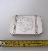 Rare late 17th/Early 18th Century London Made Silver Snuff Box (2 of 7)