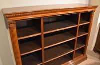 19th Century Triple Section Mahogany Bookcase (6 of 8)
