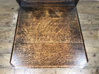 19th Century Carved Oak Hall Chair (5 of 9)