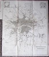 1832 The Metropolitan Boroughs Rare Reform Bill Plan. London Map by Robert Dawson (3 of 4)