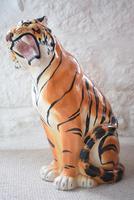 Large Mid-Century Italian Ceramic Tiger (5 of 10)