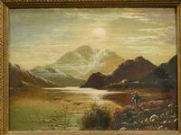 Charles Leslie - Oil on Canvas - Highland Shooting Scene (2 of 4)