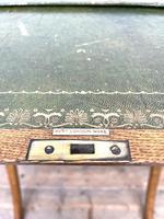Antique Oak Folding Campaign Desk (6 of 10)
