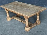French Bleached Oak Coffee Table (11 of 11)