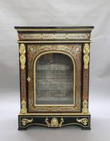 Pair of Victorian English Boulle Side Cabinets (2 of 11)