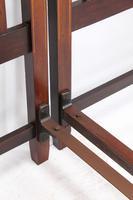 Pair of Edwardian Mahogany & Inlaid Single Beds (7 of 13)