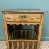 Country House French Georgian Oak Antique Bread Cupboard (3 of 5)