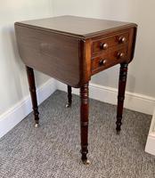 Victorian Mahogany Drop Flap Work Table (13 of 18)