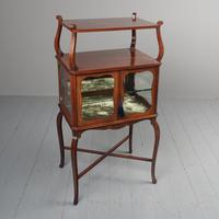 Victorian Inlaid Mahogany Display Table / Whatnot (2 of 12)