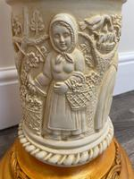 Dutch Golden Age Style Gilt Harvest Relief Plinth Display Torcheres (46 of 87)
