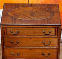 Bureau Mahogany Writing Desk Chest 19th Century Victorian (14 of 14)