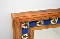 Large Mexican Tiled Mirror Vintage 1950's (9 of 10)