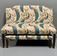 Newly Upholstered Window Seat & Stool (6 of 6)