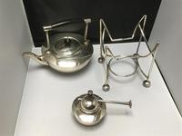 Solid Silver Spirit Kettle Dresser Style (7 of 13)