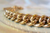 Victorian Pocket Watch Chain 1890 Antique 12ct Rose Rolled Gold Albert & T Bar (6 of 11)