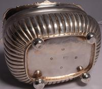 Fine George III Large Silver Tea Caddy by London Silversmiths J. W. Story & W. Elliott, 1811 (8 of 9)