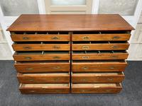 Very Rare Double Military Chest of Drawers (5 of 21)