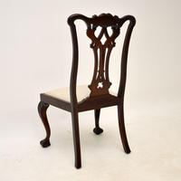 Set of 8 Antique Mahogany Chippendale Dining Chairs (12 of 14)
